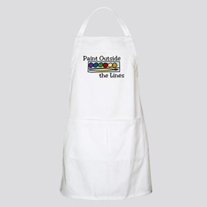 Paint Outside The Lines Apron