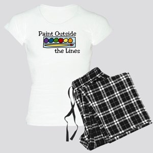 Paint Outside The Lines Women's Light Pajamas