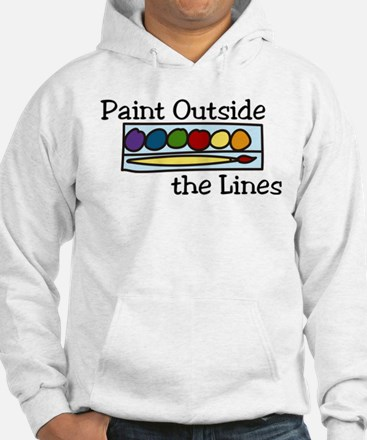 Paint Outside The Lines Jumper Hoody