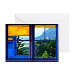 Window on the Gorge - Greeting Card