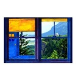 Window on the Gorge - Postcards (Package of 8)