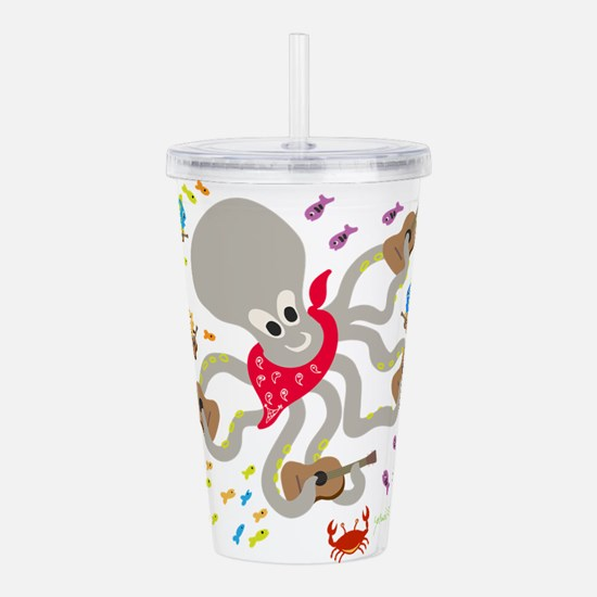 Cute Bands Acrylic Double-wall Tumbler