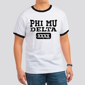 Phi Mu Delta Athletic Ringer T
