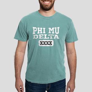 Phi Mu Delta Athletic Mens Comfort Colors Shirt