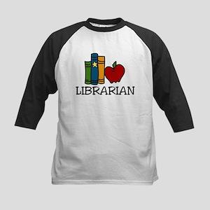 Librarian Kids Baseball Jersey