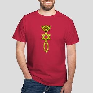 Messianic Seal! Black T-Shirt