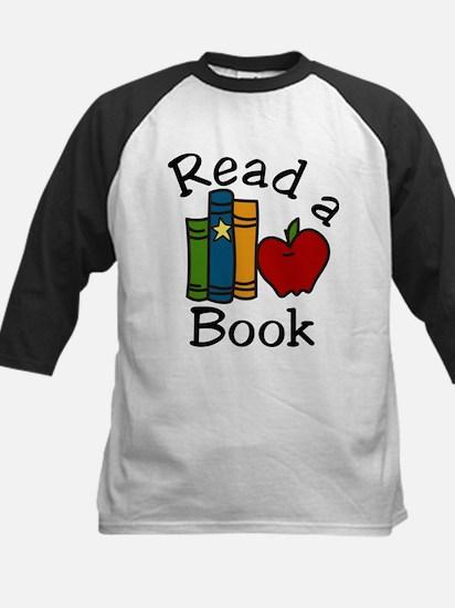 Read A Book Kids Baseball Jersey