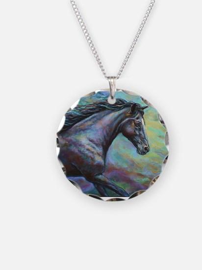 Dark Jewel painting Necklace