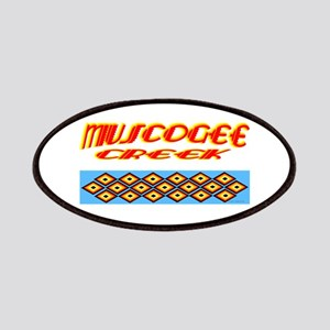 MUSCOGEE CREEK Patches