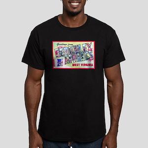 Berkeley Springs West Virginia Men's Fitted T-Shir