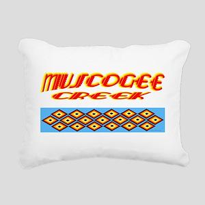 MUSCOGEE CREEK Rectangular Canvas Pillow