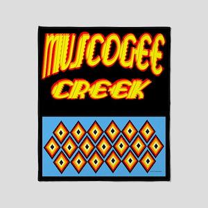 MUSCOGEE CREEK Throw Blanket