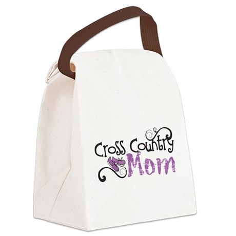 Cross Country Mom Canvas Lunch Bag