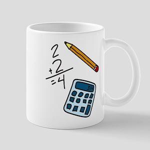 Math Calculator Mug