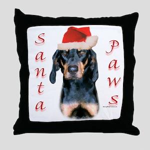 B&T Paws Throw Pillow