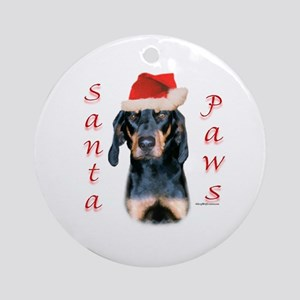 B&T Paws Ornament (Round)