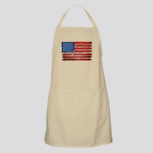Patriotic Pledge of Allegiance USA Fla Light Apron