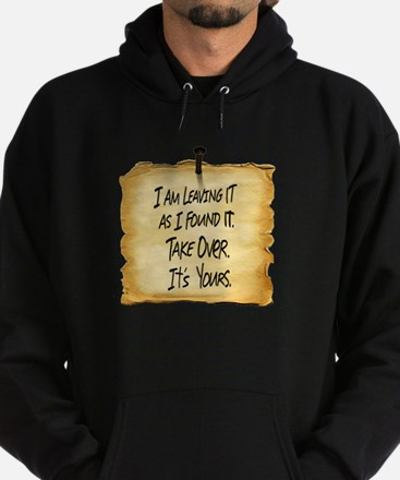 Wyatts Sign Hoodie (dark)