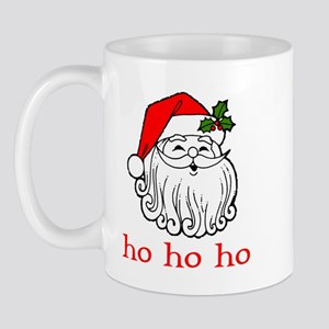 Santa Face - Ho Ho Ho  Mug