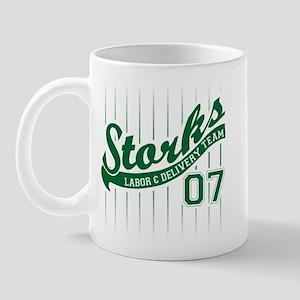Labor Coach Team Green 07 Mug