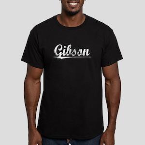 Gibson, Vintage Men's Fitted T-Shirt (dark)