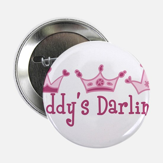 "Daddys Darlings 2.25"" Button"