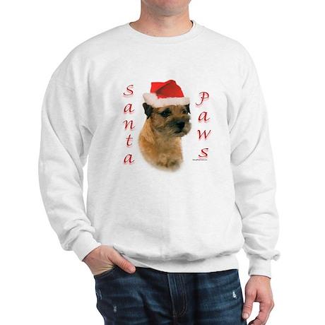 Santa Paws Border Terrier Sweatshirt