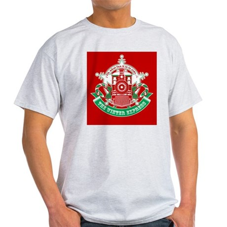 Winter Express Train Red T-Shirt