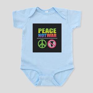 Peace Not War Rainbow Body Suit