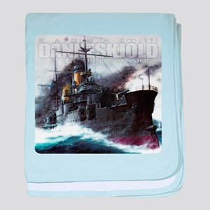 Danneskjold Repossessions Ship baby blanket