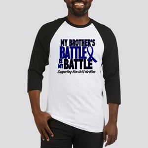 My Battle Too 1 BLUE (Brother) Baseball Jersey