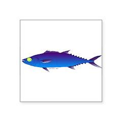 Escolar (Lilys Deep Sea Creatures) Square Sticker