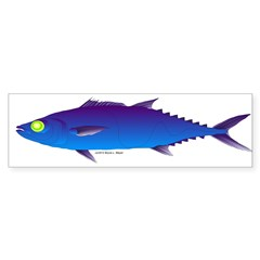 Escolar (Lilys Deep Sea Creatures) Bumper Sticker