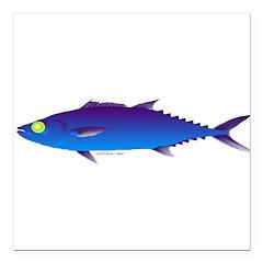 Escolar (Lilys Deep Sea Creatures) Square Car Magn