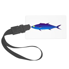 Escolar (Lilys Deep Sea Creatures) Luggage Tag