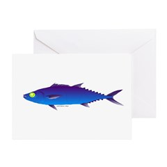Escolar (Lilys Deep Sea Creatures) Greeting Card