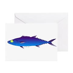 Escolar (Lilys Deep Sea Creatures) Greeting Cards