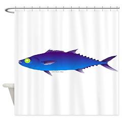 Escolar (Lilys Deep Sea Creatures) Shower Curtain