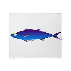 Escolar (Lilys Deep Sea Creatures) Throw Blanket
