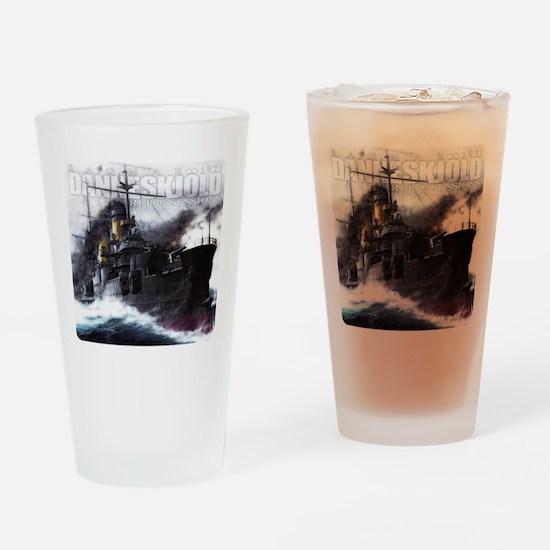Danneskjold Repossessions Ship Drinking Glass
