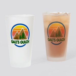 Galts Gulch Drinking Glass