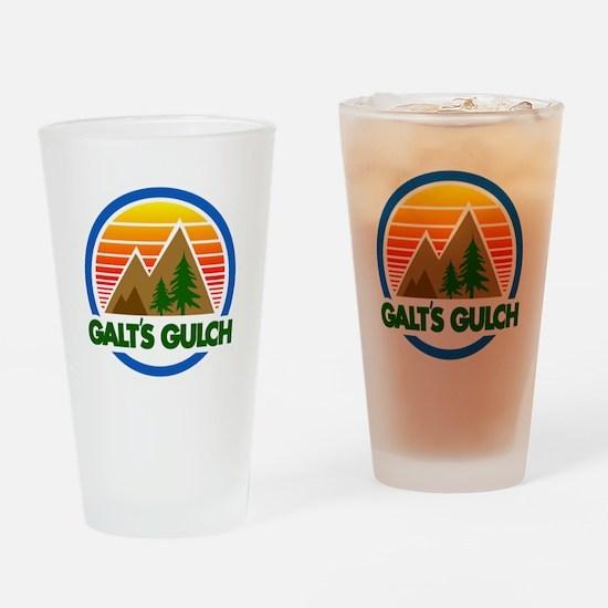 Galts Gulch Drinking Glass