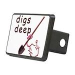 Digs Deep By Blakk Frogg Rectangular Hitch Cover