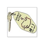 Blakk Frogg Hourly Rates Motel Key Fob In Color Sq