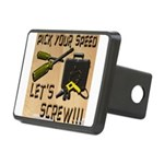 Pick Your Speed, Lets Screw Rectangular Hitch Cove