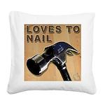 Loves To Nail -- A Blakk Frogg Original Square Can