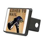 Loves To Nail -- A Blakk Frogg Original Rectangula