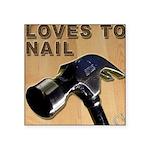 Loves To Nail -- A Blakk Frogg Original Square Sti