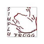 Blakk Frogg -- Simply Frogg L Wording Square Stick