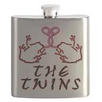 Blakk Frogg -- The Twins Tongue Tied Flask